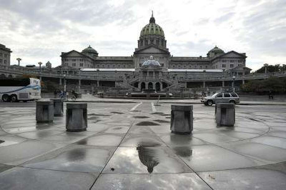 A picture made October 14, 2011 shows the Capitol Building in Pennsylvania's capital Harrisburg. Photo: AFP/Getty Images / 2011 AFP
