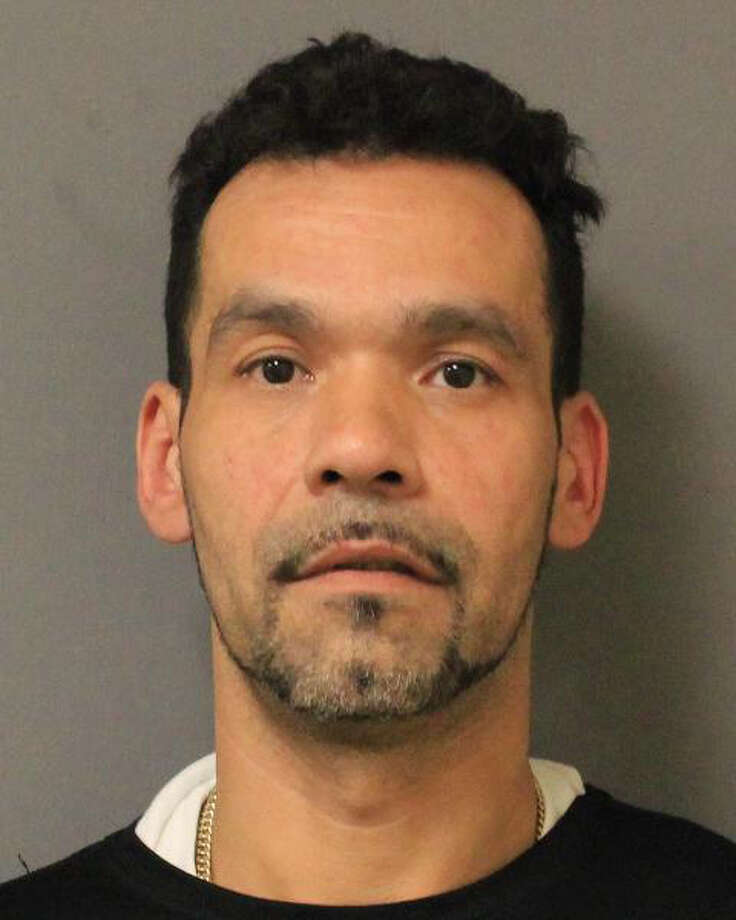 In this Tuesday, Sept. 30, 2014 photo provided by the New York State Police in Salt Point, N.Y., Gregory Rodriguez, of Ossining, N.Y. is shown. Rodriguez, an employee at the A&P supermarket in Croton-On-Hudson, N.Y., was arrested Tuesday for allegedly stealing $1,200 worth of meat from his employer by hiding it in his pants. A state police spokeswoman did not know if the theft involved more than one trip. (AP Photo/New York State Police) Photo: AP / New York State Police