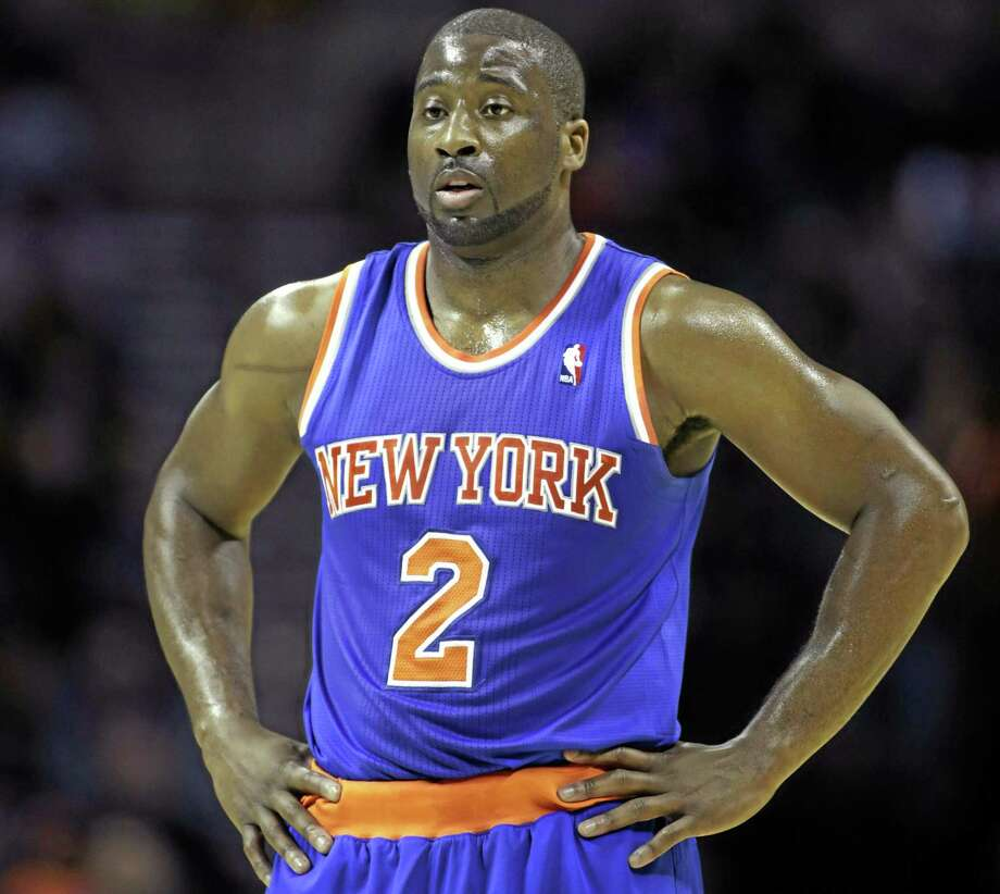 New York police have said Knicks guard Raymond Felton has been arrested on three counts of criminal possession of a weapon. Sgt. Thomas Antonetti says Felton turned himself in at 12:50 a.m. on Tuesday and was questioned in the 20th Precinct in Manhattan, hours after his team lost at home to the Dallas Mavericks on a Dirk Nowitzki buzzer-beater. Photo: Nell Redmond — The Associated Press  / FR25171 AP