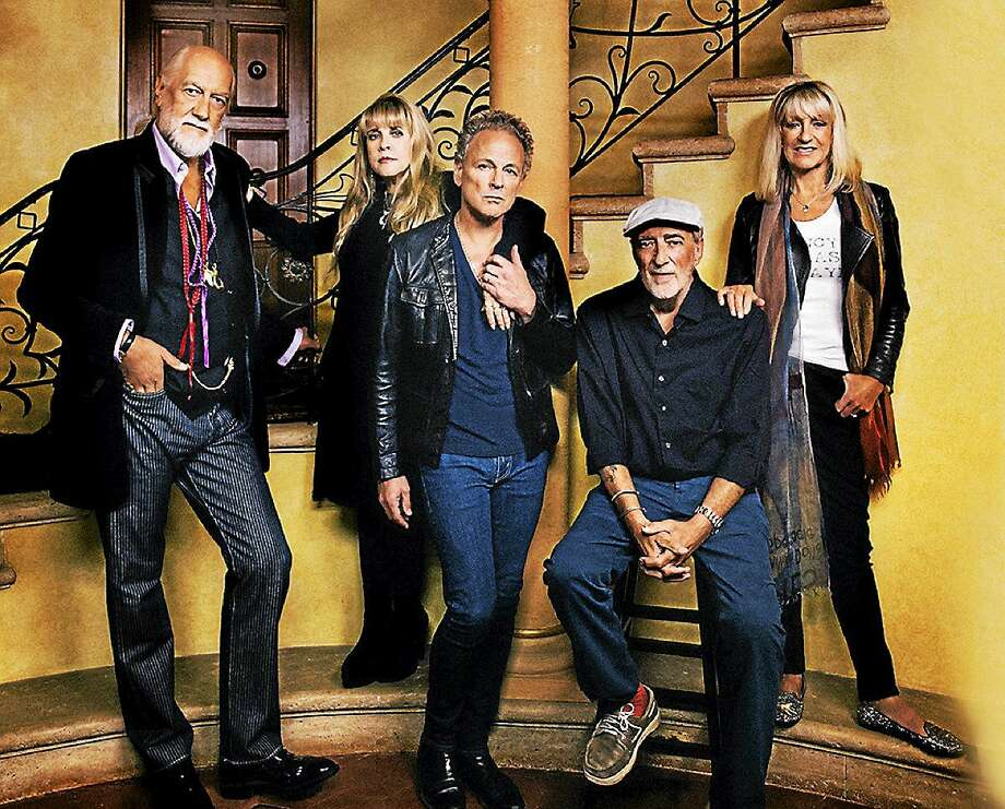 Photo courtesy of Fleetwood Mac After a 16-year absence, singer and keyboardist Christine McVie will be re-joining Fleetwood Mac band mates Mick Fleetwood, John McVie, Lindsey Buckingham and Stevie Nicks on their current ìOn With The Showî tour. The reunited band will play 34 shows in 33 cities across North America with a concert stop at the XL Center in Hartford on Saturday Nov. 1. Tickets are available online at www.xlcenter.com or by calling 877-522-8499. Photo: Journal Register Co.