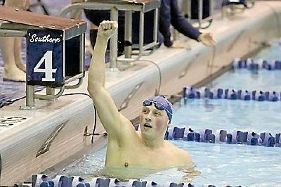 Southern Connecticut State University Raymond Cswerko prepares for NCAA Division II Championships which start March 6th. Southern Connecticut State University/Submitted Photo