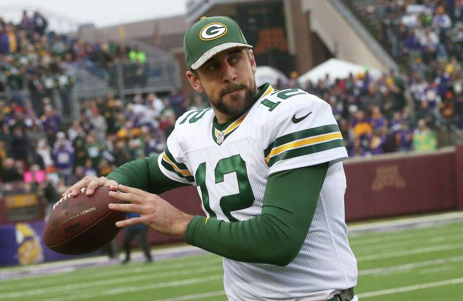 Aaron Rodgers and the Green Bay Packers will welcome Tom Brady and the New England Patriots to Lambeau Field Sunday. Photo: The Associated Press File Photo  / AP