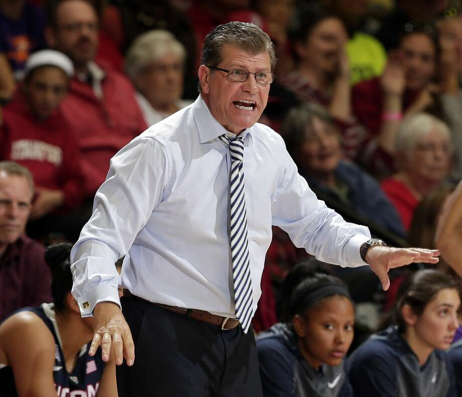 UConn head coach Geno Auriemma. Photo: The Associated Press File Photo  / AP