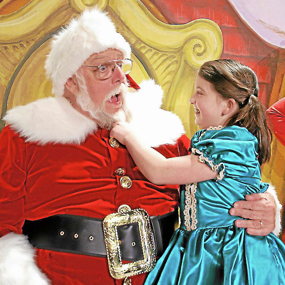 "Submitted photo - Landmark Community Theater Above, a scene from ""Miracle on 34th Street"" which is being staged at the Thomason Opera House. Photo: Journal Register Co."
