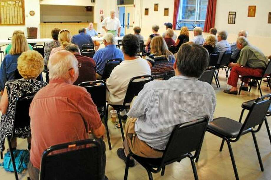 The Litchfield Republican Town Committee gathers to nominate candidates for 2013. (Jessica Glenza-Register Citizen)
