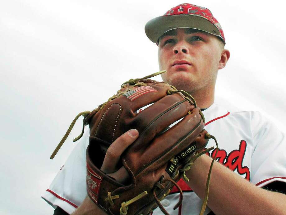 University of Hartford pitcher Sean Newcomb was selected 15th in Thursday's MLB Draft by the Los Angeles Angels. Photo: Pat Eaton-Robb — The Associated Press File Photo  / AP2014