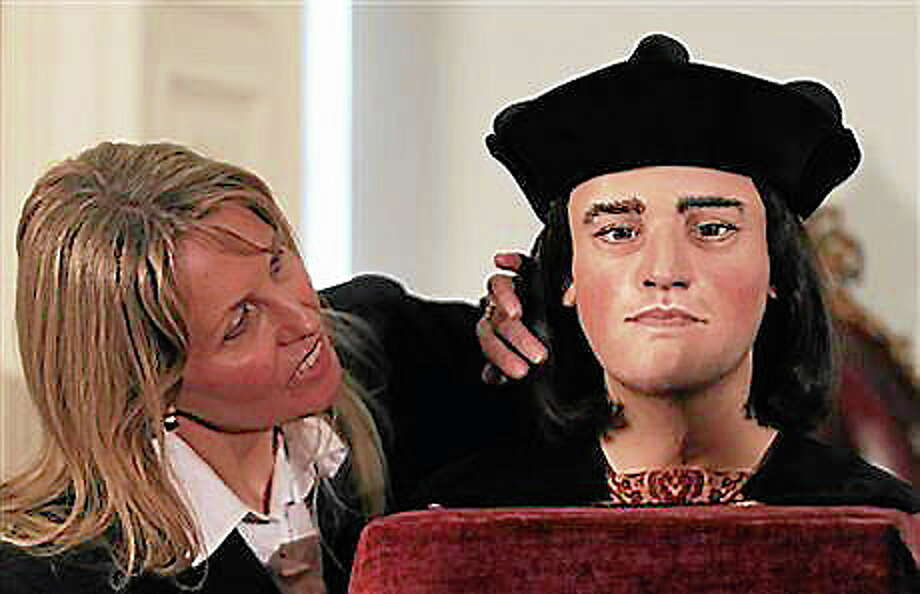 Using Richard III's actual skull, a forensic scientist has reconstructed what his face must have looked like. AP Photo Photo: Journal Register Co.