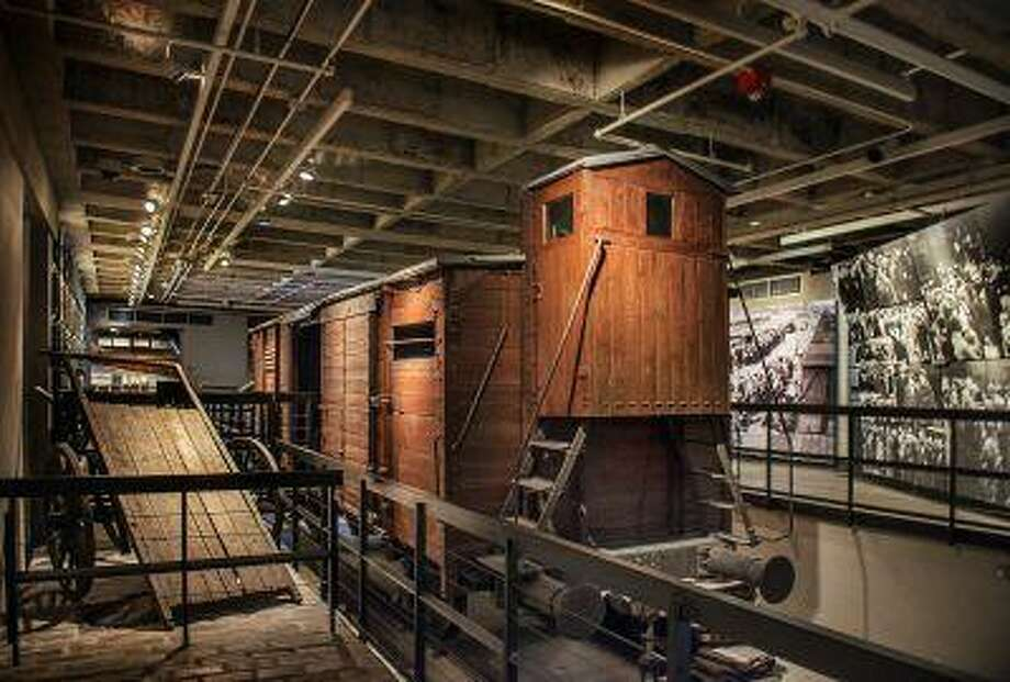 The railcar display at the Holocaust museum, which is celebrating its 20th anniversary. Illustrates MUSEUM-HOLOCAUST (category e), by Lonnae O'Neal Parker (c) 2013, The Washington Post. Moved Friday, April 26, 2013. (MUST CREDIT: Washington Post photo by Bill O'Leary.) Photo: THE WASHINGTON POST / THE WASHINGTON POST