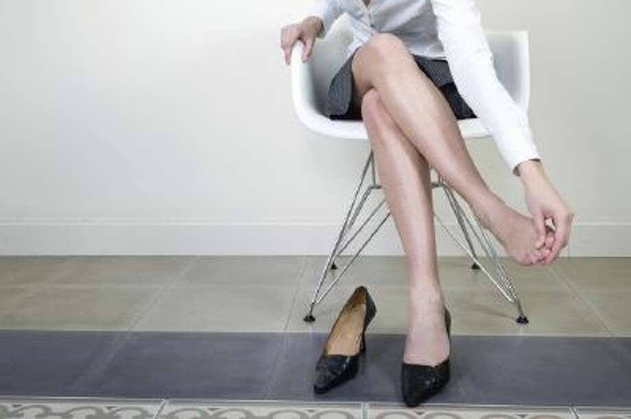 A 2005 longitudinal study in Denmark found that the incidence of hospitalizations due to varicose veins was higher among those who stand or walk at least 75 percent of their time at work.