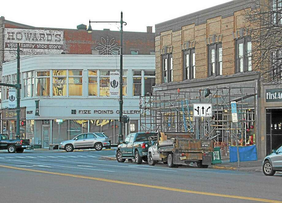 A view of Main Street in downtown Torrington where several downtown business are gearing up for Small Business Saturday. Photo: Gayla Cawley—For The Register Citizen
