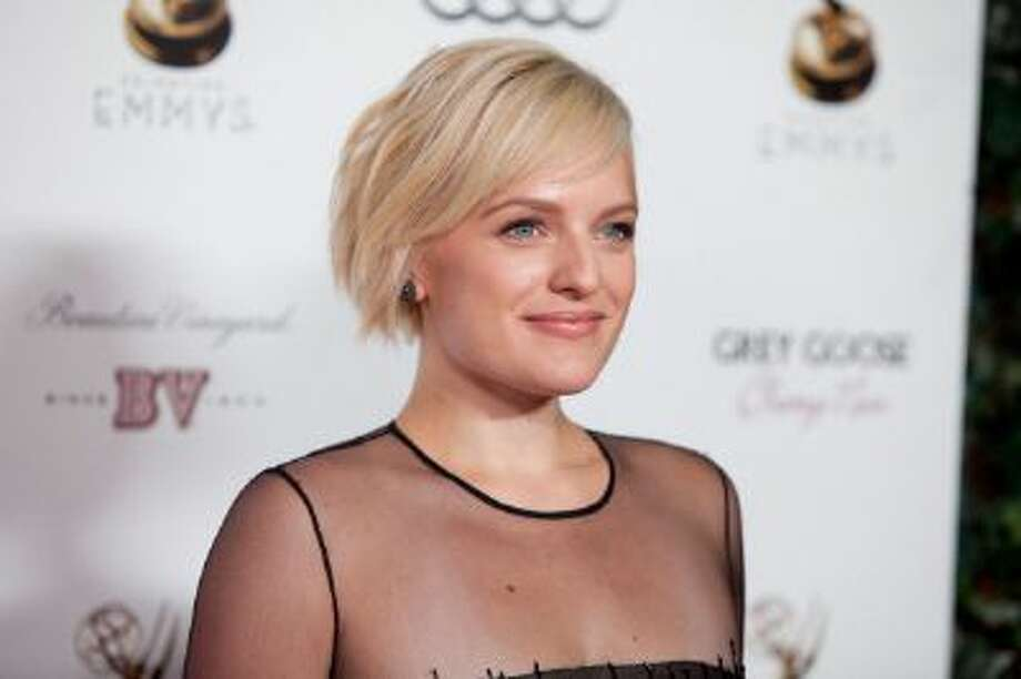 Elisabeth Moss attends The Academy Of Television Arts & Sciences Performer Nominees' 64th Primetime Emmy Awards Reception at Spectra by Wolfgang Puck at the Pacific Design Center Photo: Getty Images / 2012 Getty Images