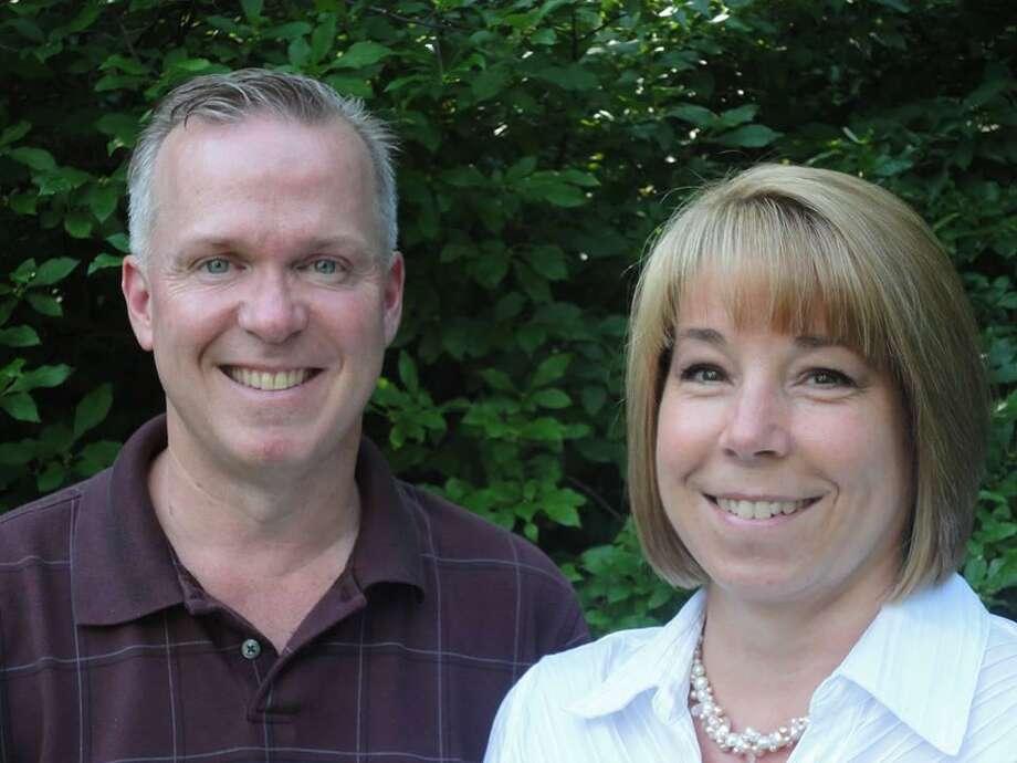 Republican First Selectman Dan Jerram and fellow board member Alesia Kennerson plan to seek re-election in New Hartford.