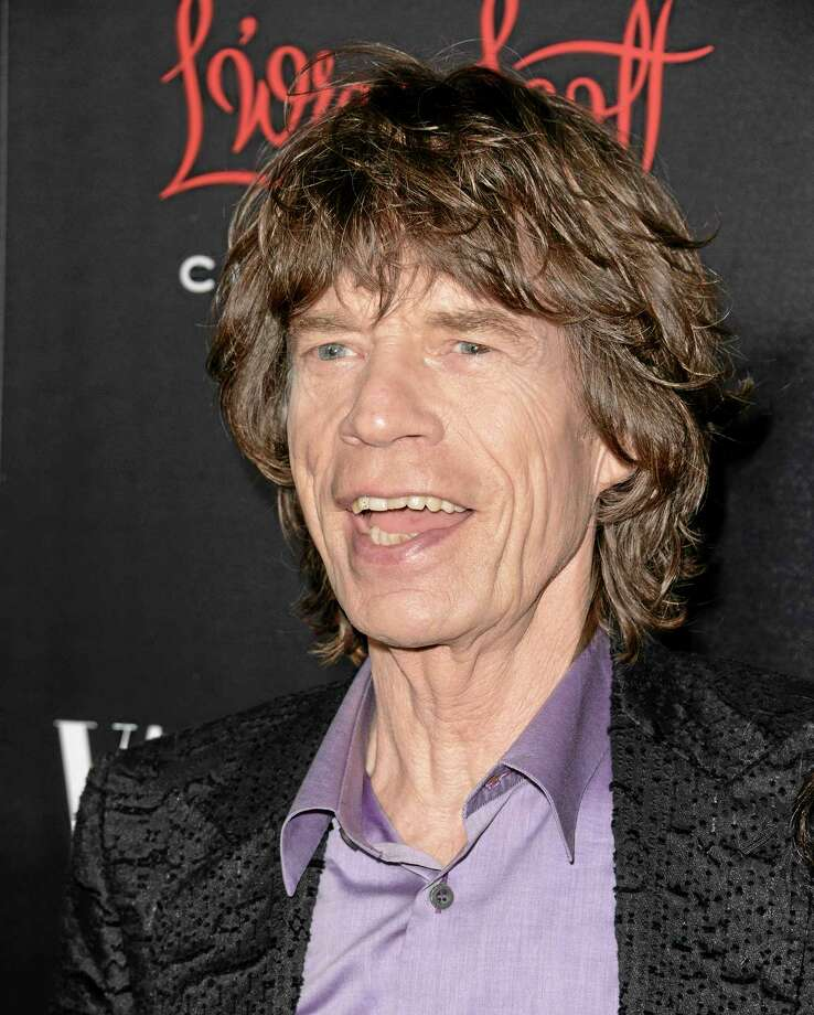 Mick Jagger arrives at the Banana Republic L'Wren Scott Collection launch party at the Chateau Marmont Nov. 19 in West Hollywood, Calif. (Photo by Dan Steinberg/Invision/AP) Photo: Dan Steinberg/Invision/AP / Invision