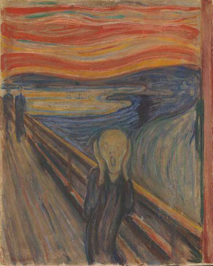 "Edvard Munch's ""The Scream,"" is one of the most renowned icons of modern art. This and other Munch works will be showcased at the Oslo National Gallery and Munch Museum in Oslo this year, during a celebration of the artist's 150th birthday. Illustrates EXHIBIT-MUNCH (category e), by Jason Edward Kaufman, special to The Washington Post. Moved Friday, July 19, 2013. (MUST CREDIT: Oslo National Gallery and Munch Museum.) Photo: The Washington Post / The National Museum of Art, Architecture and Design, Oslo."