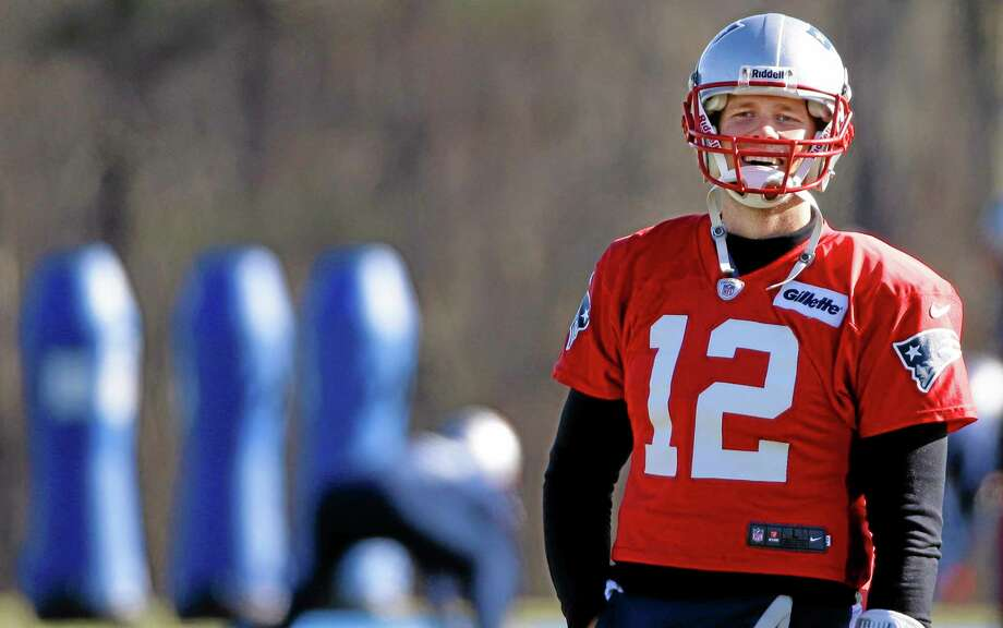 Dan Nowak expects quarterback Tom Brady and the Patriots to take care of business the rest of the season after Monday night's controversial loss to the Panthers. Photo: Stephan Savoia — The Associated Press  / AP