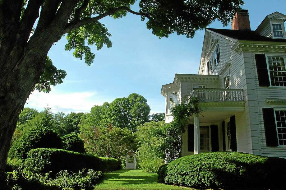 Photos courtesy of Bellamy-Ferriday House & Garden The Bellamy-Ferriday House and Garden, where the unveiling of a butterfly waystation in the picturesque gardens is planned on CT Landmarks Day. Photo: Journal Register Co.