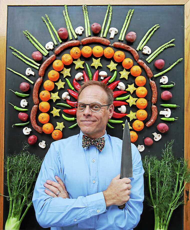 Photo courtesy of Alton Brown Foodist Alton Brown is bringing his live show to the Palace Theater in Waterbury in November, and tickets are now available. Photo: Journal Register Co.