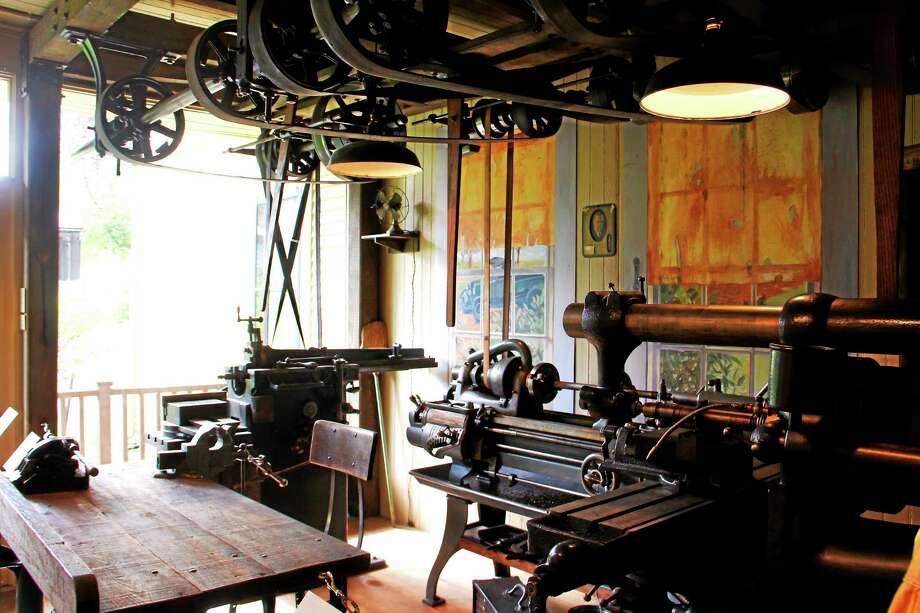 The Hendey Machine Shop exhibit at the Torrington Historical Society on Friday, May 30, 2014. Photo: Esteban L. Hernandez - The Register Citizen