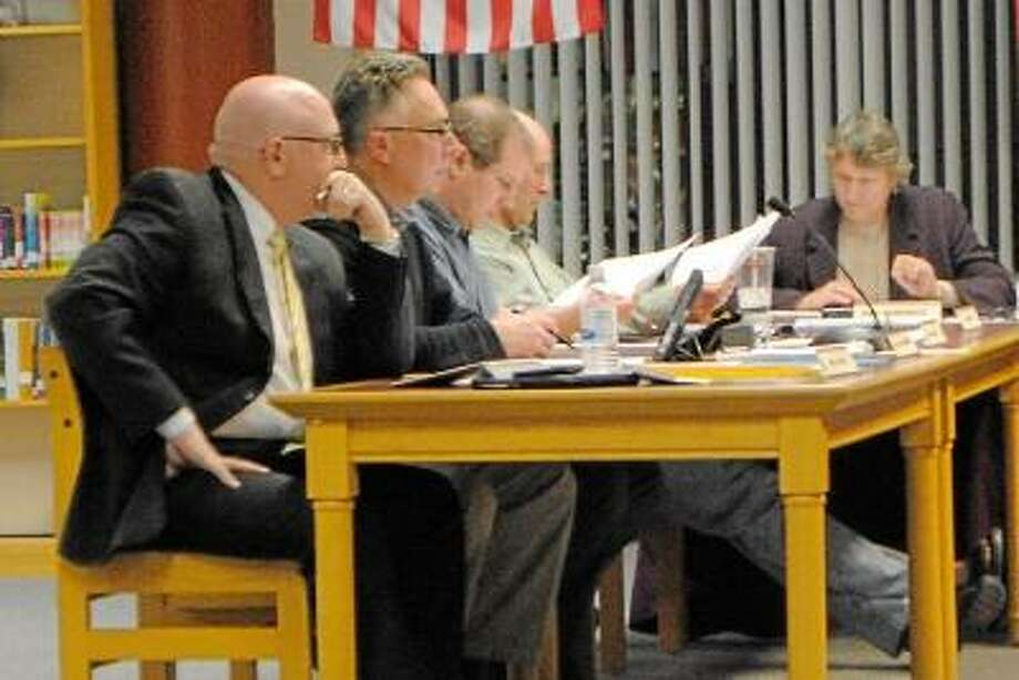 Jessica Glenza/Register Citizen -- Torrington Board of Education members passed a controversial Healthy Food Certification measure, Wednesday evening.