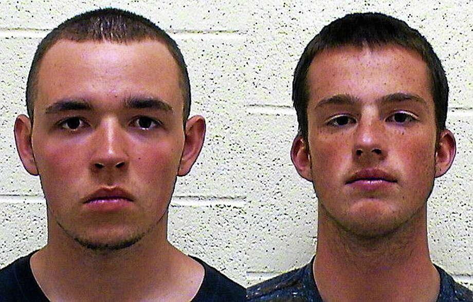 Jacob Wellman, left, and Stephen Lamont, right. Photo: Contributed Photo — Torrington Police