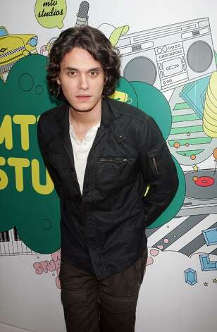NEW YORK - SEPTEMBER 13:  (U.S. TABS OUT) Musician John Mayer poses for a photo backstage during MTV's Total Request Live at the MTV Times Square Studios on September 13, 2006 in New York City.  (Photo by Scott Gries/Getty Images) Photo: Scott Gries, Getty Images / 2006 Getty Images