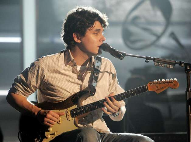 LOS ANGELES - FEBRUARY 11:  Musician John Mayer rehearses for the Grammy Awards February 11, 2005 at the Staples Center in Los Angeles, California. The Grammy's will be presented on February 13.  (Photo by Frank Micelotta/Getty Images) Photo: Frank Micelotta, Getty Images / 2005 Getty Images