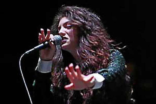 Lorde performs during the Not So Silent Night concert night two at the Oracle Arena in Oakland, Calif., on Saturday, Dec. 7, 2013.