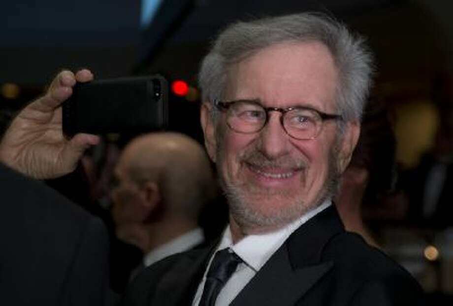Director Steven Spielberg attends the White House Correspondents' Association Dinner at the Washington Hilton Hotel on April 27, 2013.