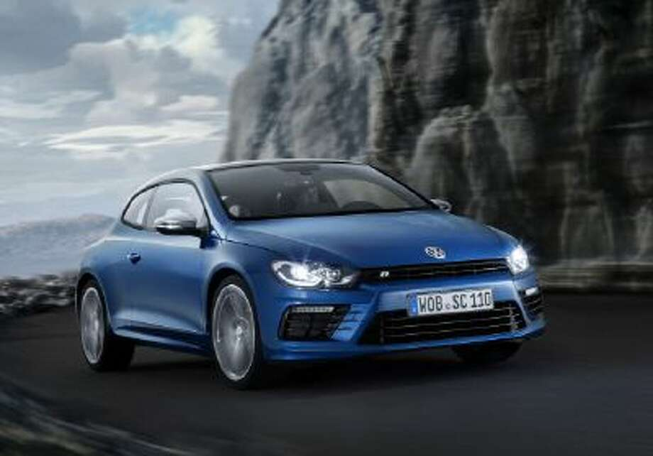 Volkswagen Scirocco R: The new car is more powerful and more aggressively styled.