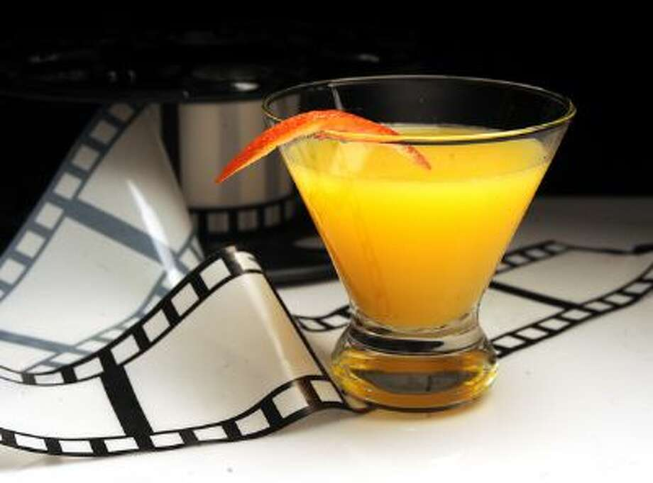 """The Wallbanger's Hustle, a nod to """"American Hustle,"""" a riff on the 1970s era Harvey Wallbanger, made with absinthe, vodka, Becherovka, Licor 43 and orange juice. Photographed in Walnut Creek, Calif., on Tuesday, Feb. 11, 2014. Photo: Bay Area News Group / Bay Area News Group"""