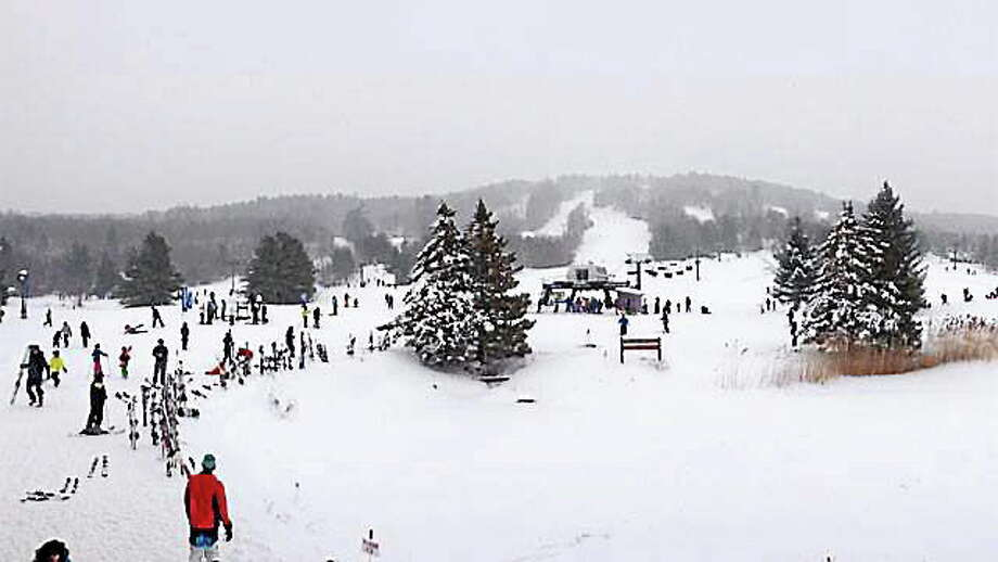 The view at Mohawk Mountain in Cornwall on Feb. 15, 2014. Photo: Contributed Photo