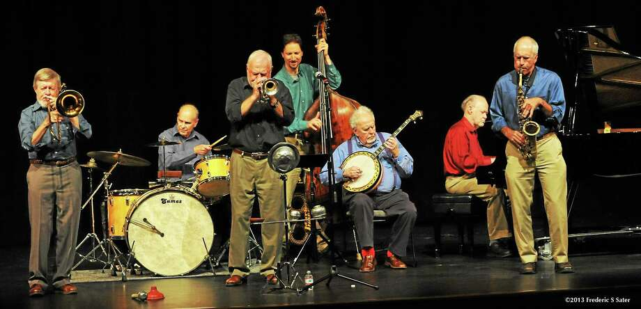 ©2013 Frederic S. Sater - ALL RIGHTS RESERVED PLEASE PERSONAL USE ONLY  INCLUDING INTERNET without prior authorization  196 New Black Eagle Jazz Band 8-10-2013 Photo: Journal Register Co. / 2013 Frederic S. Sater