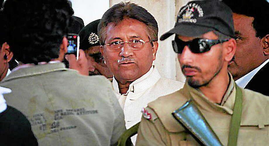 Former Pakistani President Pervez Musharraf Photo: Journal Register Co.