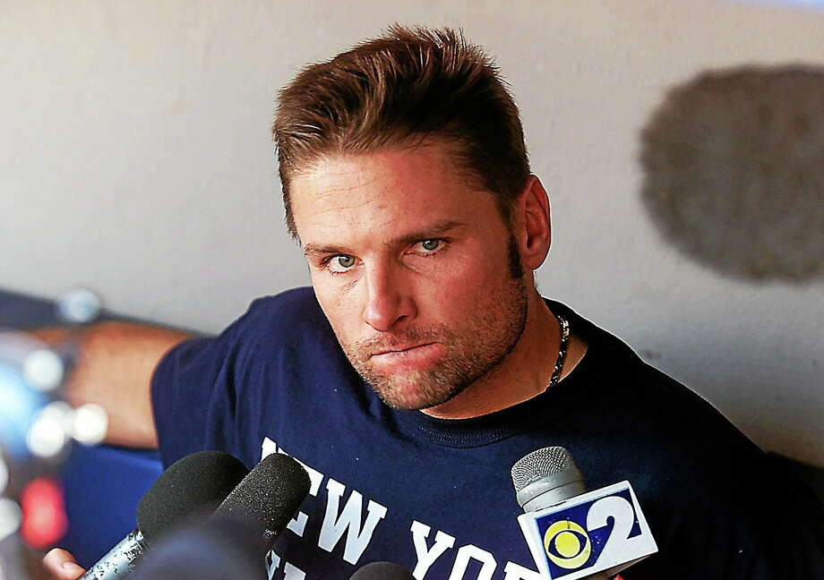 Former New York Yankees second baseman Chuck Knoblauch has been charged with assaulting his ex-wife. Photo: Ed Betz — The Associated Press File Photo  / AP2000