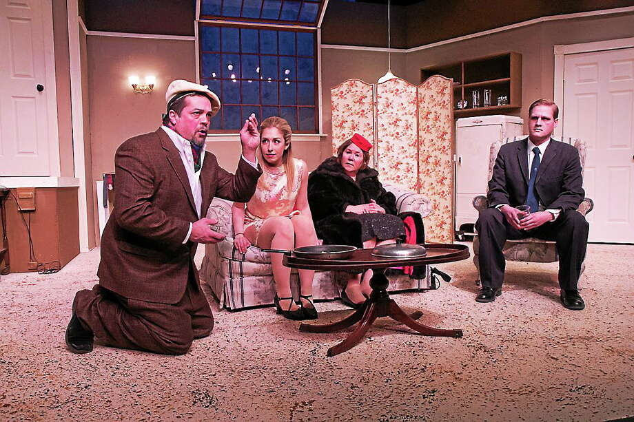 """Submitted photo - TheatreWorks New Milford   A scene from """"Barefoot in the Park"""" which opens Feb. 28 in New Milford. Photo: Journal Register Co."""