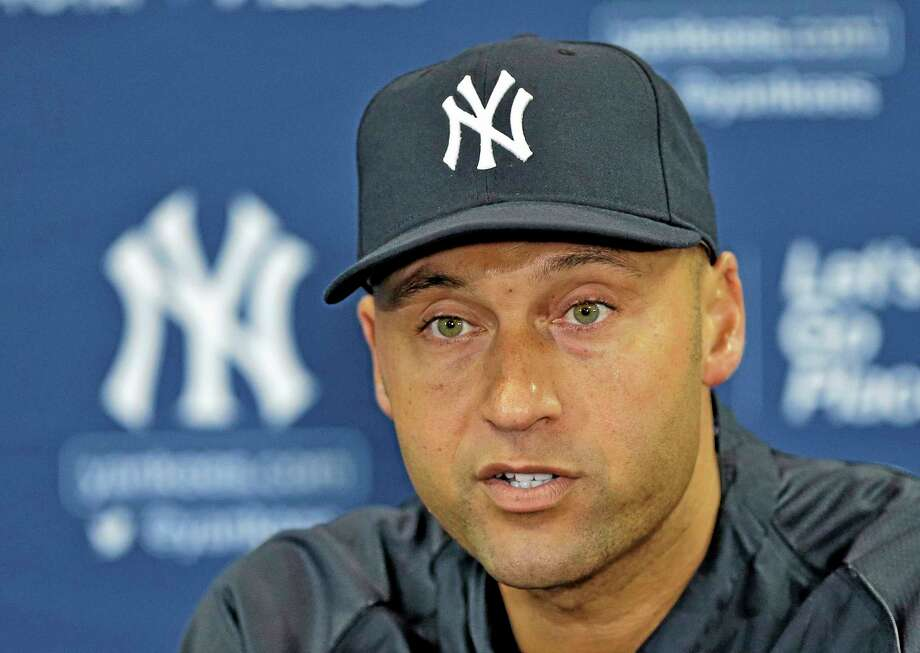 Yankees shortstop Derek Jeter has turned a small part of his attention to business as his baseball career winds down. Photo: The Associated Press  / AP