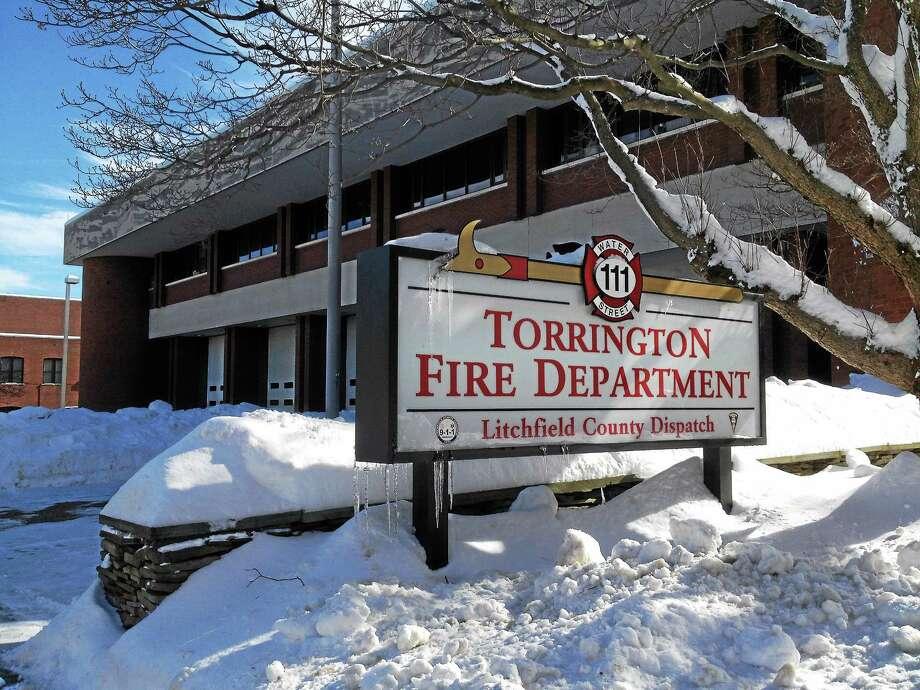 The Torrington Fire Department headquarters on Water Street. Photo: Register Citizen File Photo