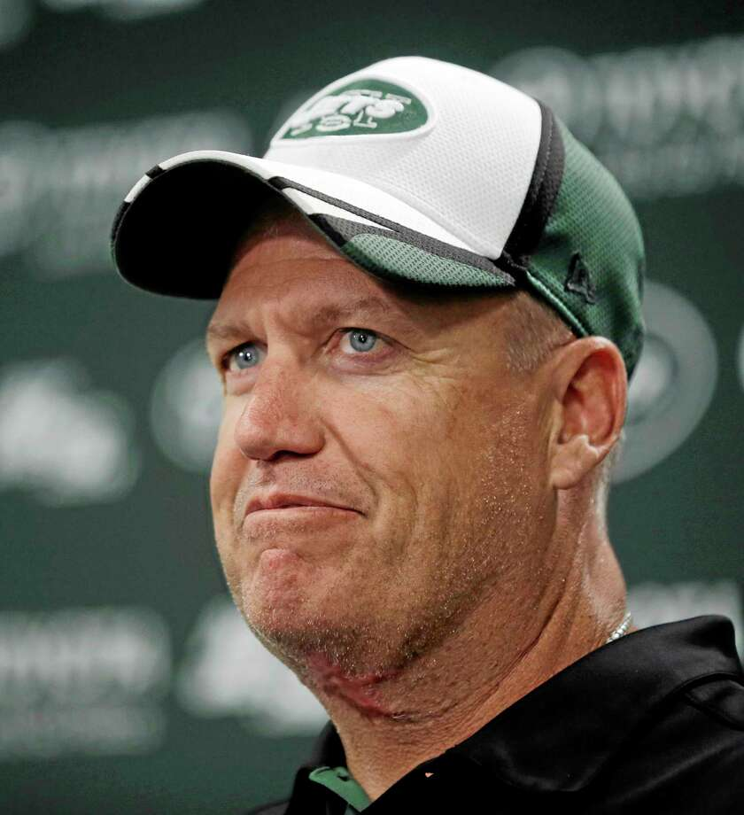 Coach Rex Ryan may be on the hot seat if the Jets are unable to end a three-year playoff drought. Photo: The Associated Press  / AP