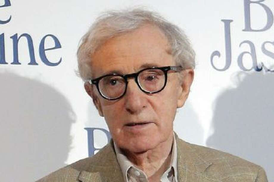 "Woody Allen at the French premiere of ""Blue Jasmine,"" in Paris."