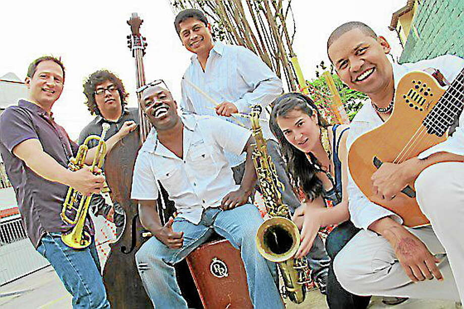 Submitted photo - Gabriel Alegria Afro Peruvian SextetThe Gabriel Alegria Afro Peruvian Sextet will open the Warner Theatre's jazz series on Nov. 22. Photo: Journal Register Co.