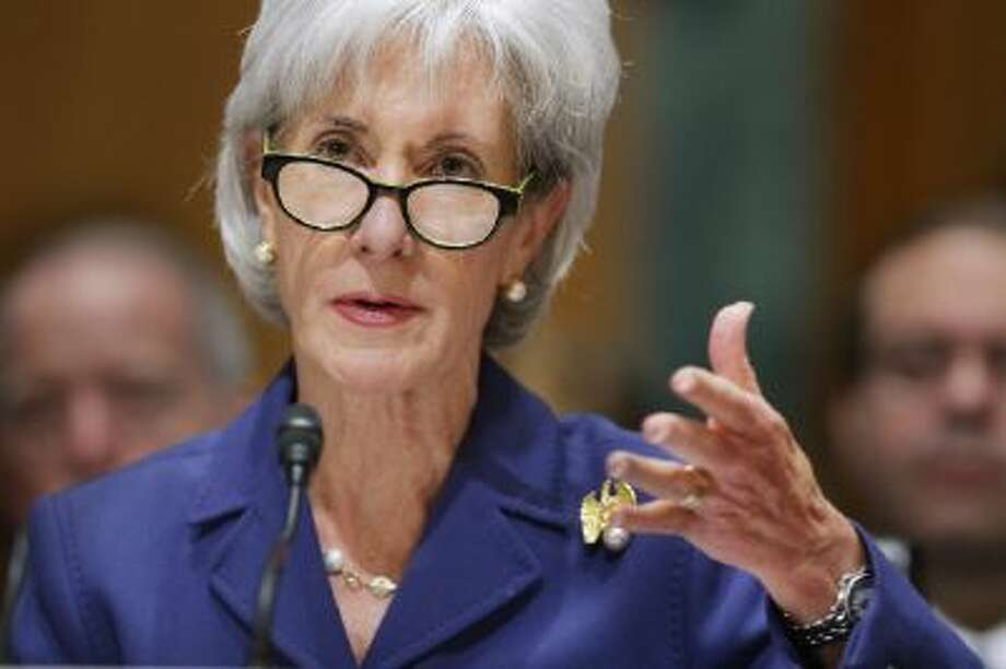 Health and Human Services Secretary Kathleen Sebelius released enrollment numbers for how many people have bought health insurance so far since Obamacare launched. Photo: Getty Images / 2013 Getty Images