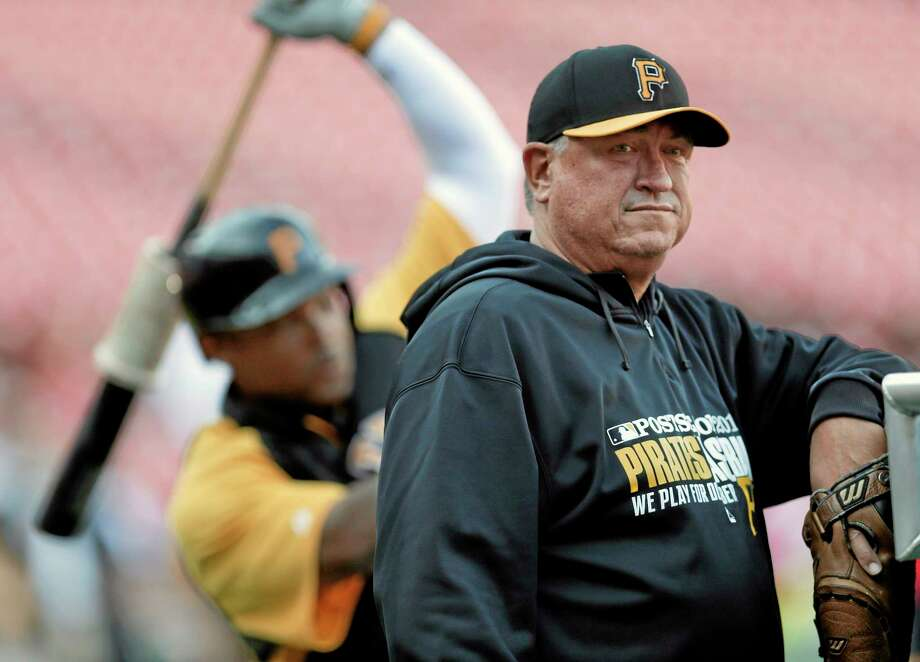 Pittsburgh Pirates manager Clint Hurdle won the National League Manager of the Year award after guiding the Pirates to the playoffs in their first winning season since 1992. Photo: Charlie Riedel — The Associated Press  / AP