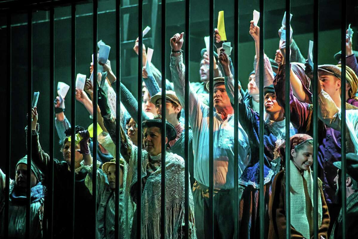 """Photos by Luke Haughwot A scene from """"Ragtime"""" at the Warner Theatre. The show continues until Sunday, Nov. 9."""