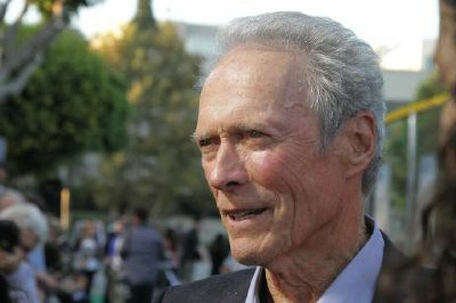 Actor Clint Eastwood saved tournament director Steve John prior to the AT&T Pebble Beach National Pro-Am Wednesday in Pebble Beach, Calif.