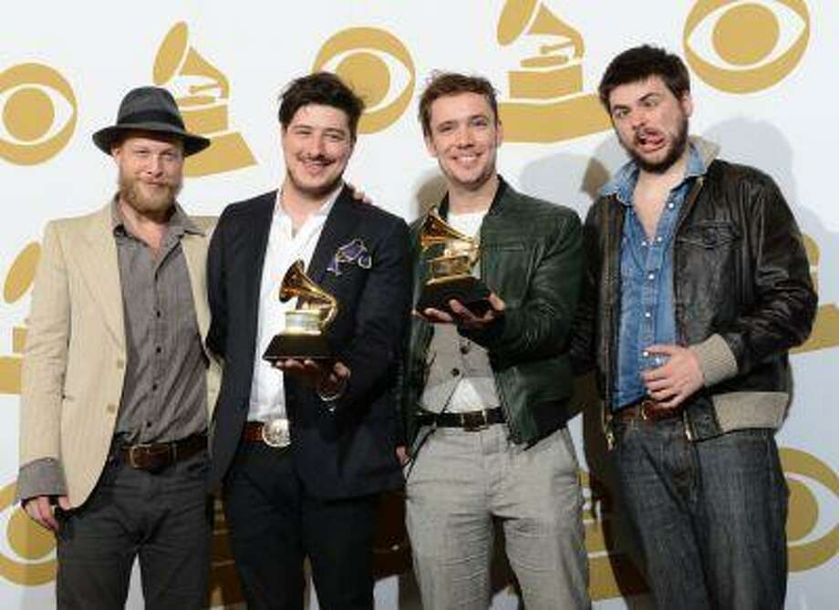 Mumford and Sons has helped create their own beer. (AFP Photo/Robyn Beck)
