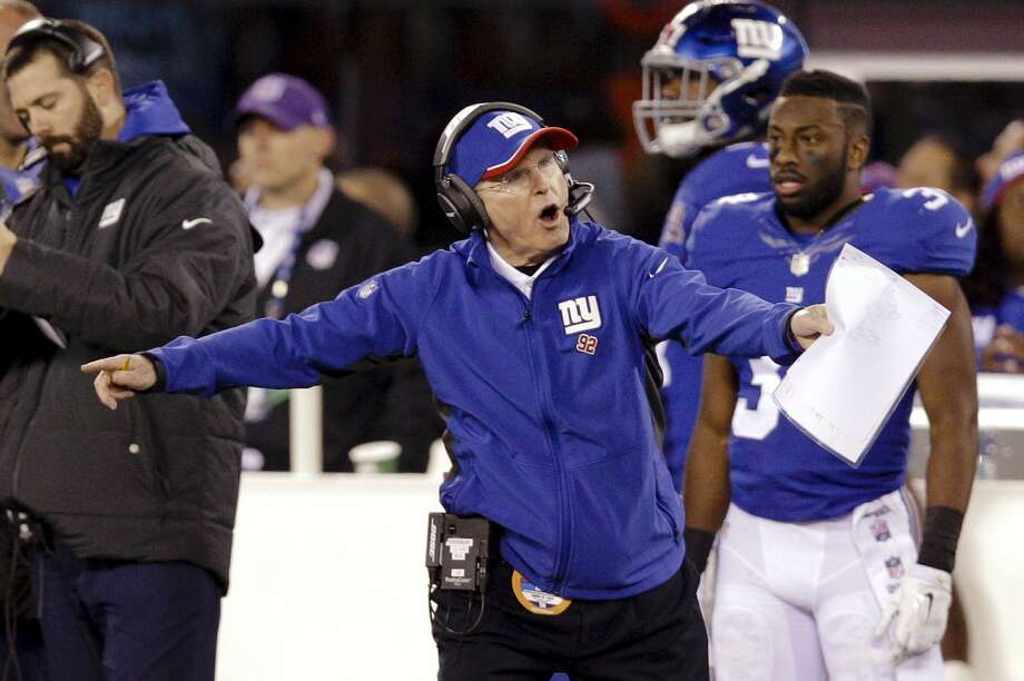 Head coach Tom Coughlin and the New York Giants have lost three straight games. Photo: Kathy Willens — The Associated Press  / AP