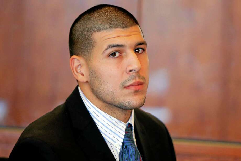 A judge on Friday ruled prosecutors cannot have recordings of jailhouse phone calls involving Aaron Hernandez. Photo: Brian Snyder — The Associated Press  / Pool Reuters