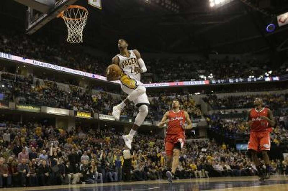 Indiana Pacers forward Paul George will compete in the 2014 Dunk Contest.