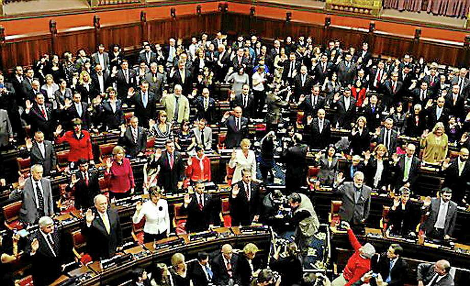 Connecticut legislature in 2013. Photo: (AP File Photo/Jessica Hill) / FR125654 AP