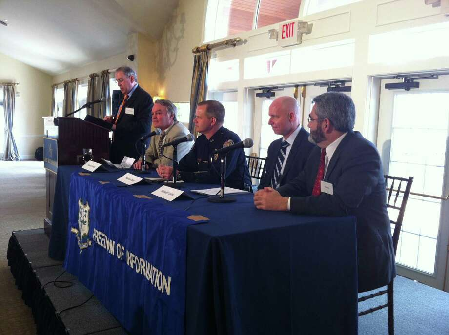 Freedom of Information Conference panel